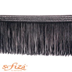 Fringe with mesh trimming 14 cm