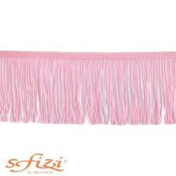 Frangia in Acetato Rosa cm 10