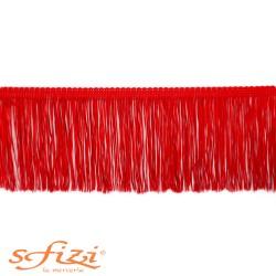 Frangia in Acetato Rossa cm 10