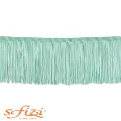 Green Water Acetate Fringe 10 cm
