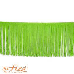 Frangia in Acetato Verde Mela cm 15