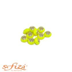 Perle sfaccettate per cordoni