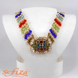 Collana Placcata Oro con Perle De Liguoro