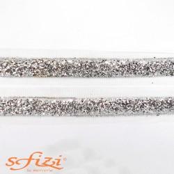 Bordo Glitterato Termo Adesivo larghezza cm 2
