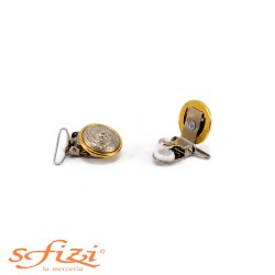 Clips Bretelle stile Versace mm 30