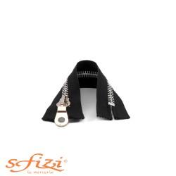 Zip 18 cm nickel-plated chain hinge, not detachable