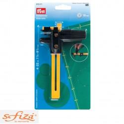 Rotary compass cutter
