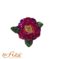 Rose Termoadesive con Paillettes mm 100 x100